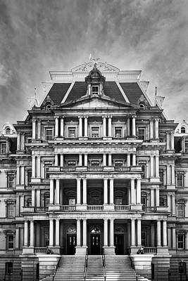 Photograph - Dwight D Eisenhower Executive Office Building by Walter Rowe