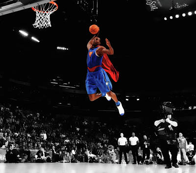 Dwight Howard As Superman Art Print
