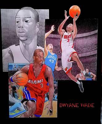 Dwyane Wade Art Print