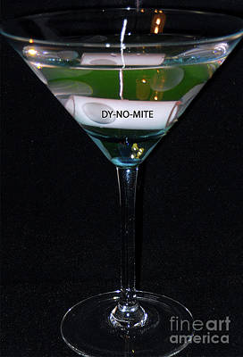 Martini Royalty-Free and Rights-Managed Images - Dy No Mite by Skip Willits