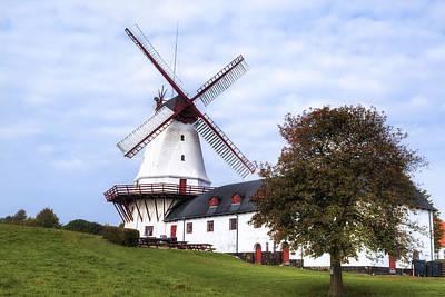 Dybbol Windmill - Denmark Art Print