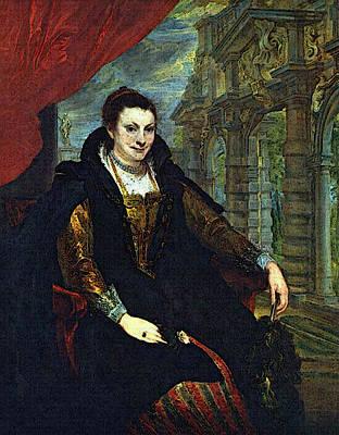 Digital Art - Dyck Anthony Van Isabella Brandt by Sir Antony van Dyck