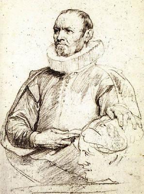 Digital Art - Dyck Anthony Van Nicolaas Rockox by Sir Antony van Dyck