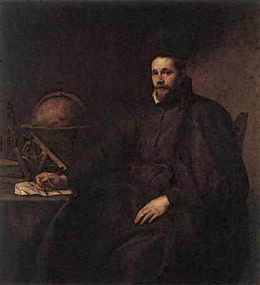 Digital Art - Dyck Anthony Van Portrait Of Father Jean Charles Della Faille S J by Sir Antony van Dyck