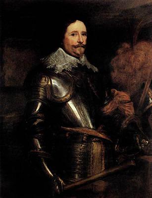Digital Art - Dyck Anthony Van Portrait Of Frederik Hendrik by Sir Antony van Dyck