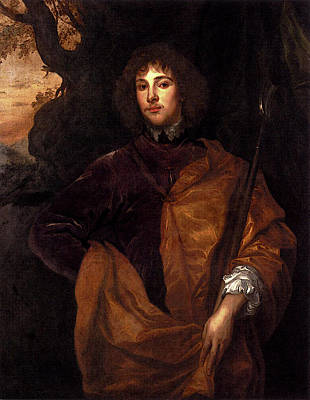 Digital Art - Dyck Anthony Van Portrait Of Philip Lord Wharton by Sir Antony van Dyck