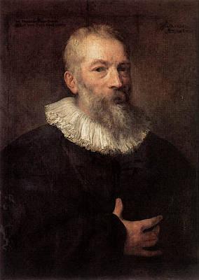 Digital Art - Dyck Anthony Van Portrait Of The Artist Martin Pepijn by Sir Antony van Dyck
