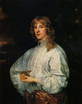Digital Art - Dyck Sir Anthony Van James Stuart Duke Of Richmond by Sir Antony van Dyck