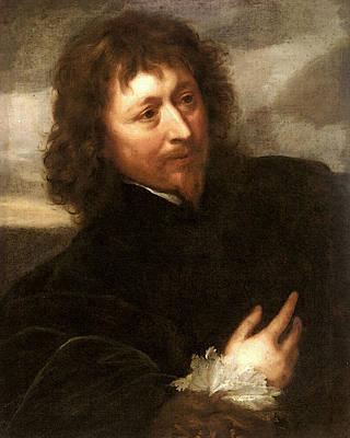 Digital Art - Dyck Sir Anthony Van Portrait Of Endymion Porter by Sir Antony van Dyck