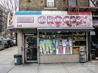 Photograph - Dyckman Bodega by Cole Thompson