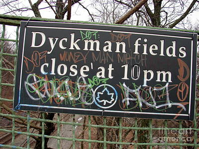 Photograph - Dyckman Fields by Cole Thompson