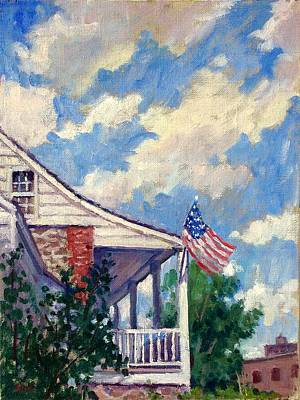 Painting - Dyckman House Nyc by Thor Wickstrom