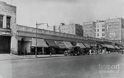 Photograph - Dyckman Street, 1927 by Cole Thompson