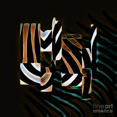Digital Art - Dye Cast In Brown by Diana Mary Sharpton