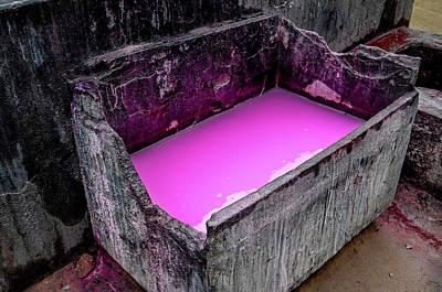 Photograph - Dye Vat by Miles Whittingham