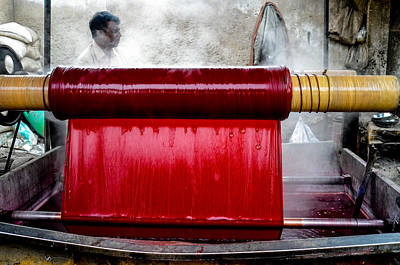 Photograph - Red Dye by M G Whittingham