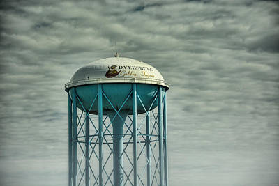 Photograph - Dyersburg Water Tower by Jai Johnson