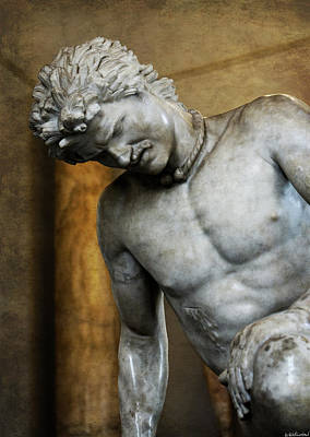Photograph - Dying Gaul Closer by Weston Westmoreland