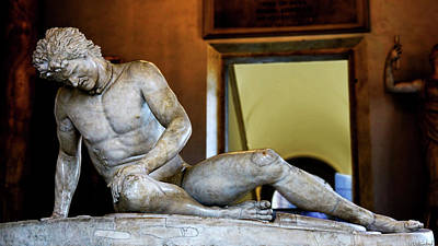 Photograph - Dying Gaul by Weston Westmoreland