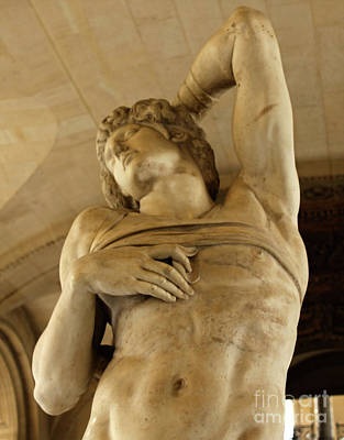 Photograph - Dying Slave By Michelangelo by Gregory Dyer
