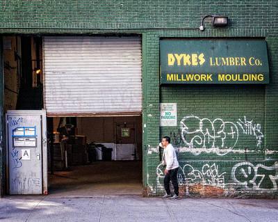Photograph - Dykes Lumber Co. by Alan Raasch