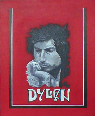 Dylan Art Print by Jimmy  Ovadia