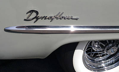 Photograph - Dynaflow Car Chrome by Gregory Dyer