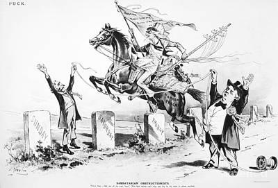 Photograph - Dynamic America, 1889 by Granger