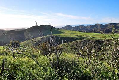 Photograph - Dynamic California Landscape by Matt Harang