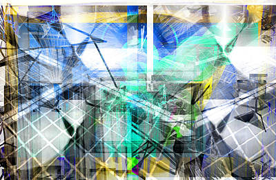 Digital Art - Dynamic Cubes by Art Di