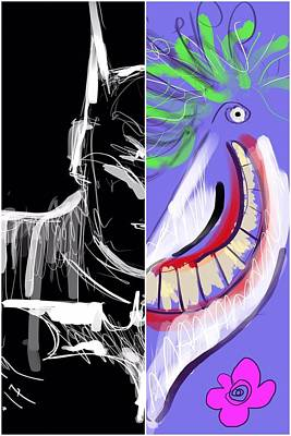Digital Art - Dynamic Duet by Jason Nicholas