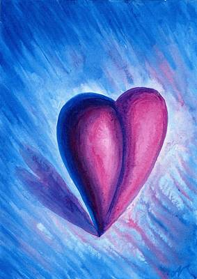 Painting - Dynamic Heart by Nelson Dynan
