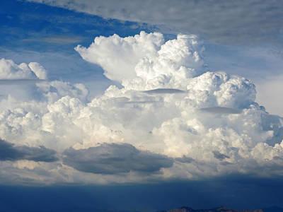 Photograph - Dynamo Sky 3 by Lynda Lehmann
