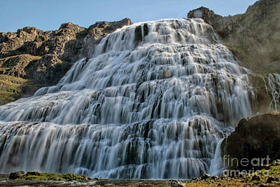 Photograph - Dynjandi Waterfall In Iceland by Patricia Hofmeester