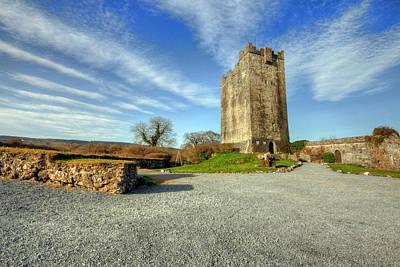 Dysert O Dea Castle Photograph - Dysert Castle by John Quinn