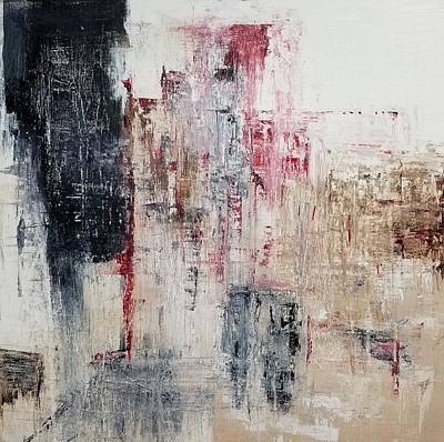 Wall Art - Painting - Dystopia by Linda Wimberly