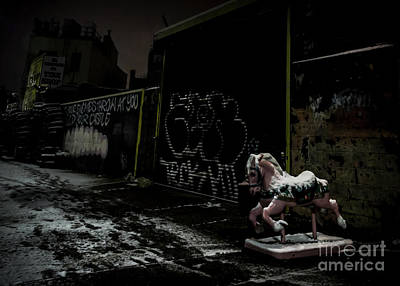 Photograph - Dystopian Playground 1 by James Aiken