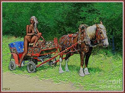 Dzhalma In Cart Art Print by Pemaro