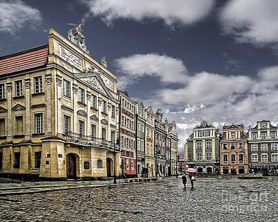 Photograph - Dzialynskich Palace Old Market Square Poznan Poland by Danuta Bennett