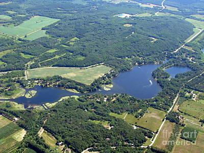 Photograph - E-001 Emerald Lake Washara County Wisconsin by Bill Lang