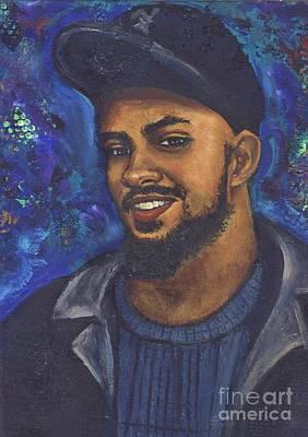 Art Print featuring the painting E by Alga Washington