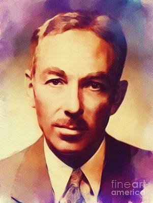 Recently Sold - Music Paintings - E. B. White, Literary Legend by Esoterica Art Agency
