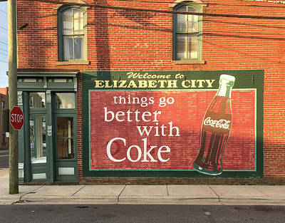 Photograph - E. City Coke by David Nichols