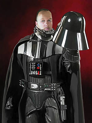 Digital Art - E Howard Vader by Rick Blyseth