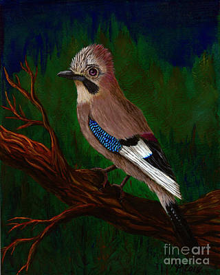 Painting - E Jay by Rebecca Parker