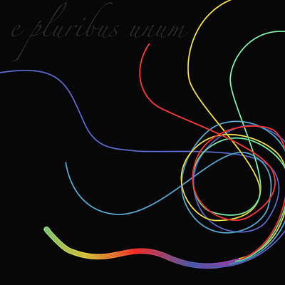 Digital Art - E Pluribus Unum by Gina Harrison