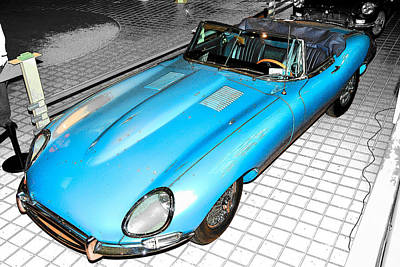 Photograph - E - Type by John Schneider