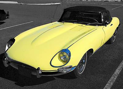 Photograph - E Type X K by John Schneider
