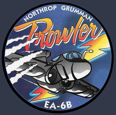 Digital Art - Ea-6b Prowler by Ted Kole
