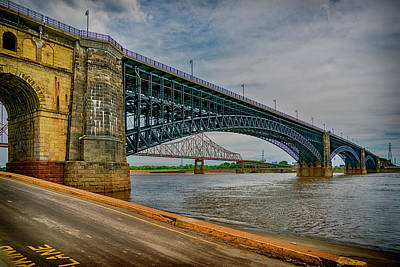 Photograph - Eads Bridge St Louis Missouri 7r2_dsc9400_06182017 by Greg Kluempers